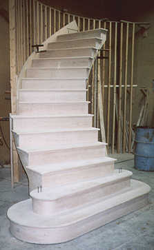 Chambersburg pa pre assembled stair builders custom pre for Ready made staircase